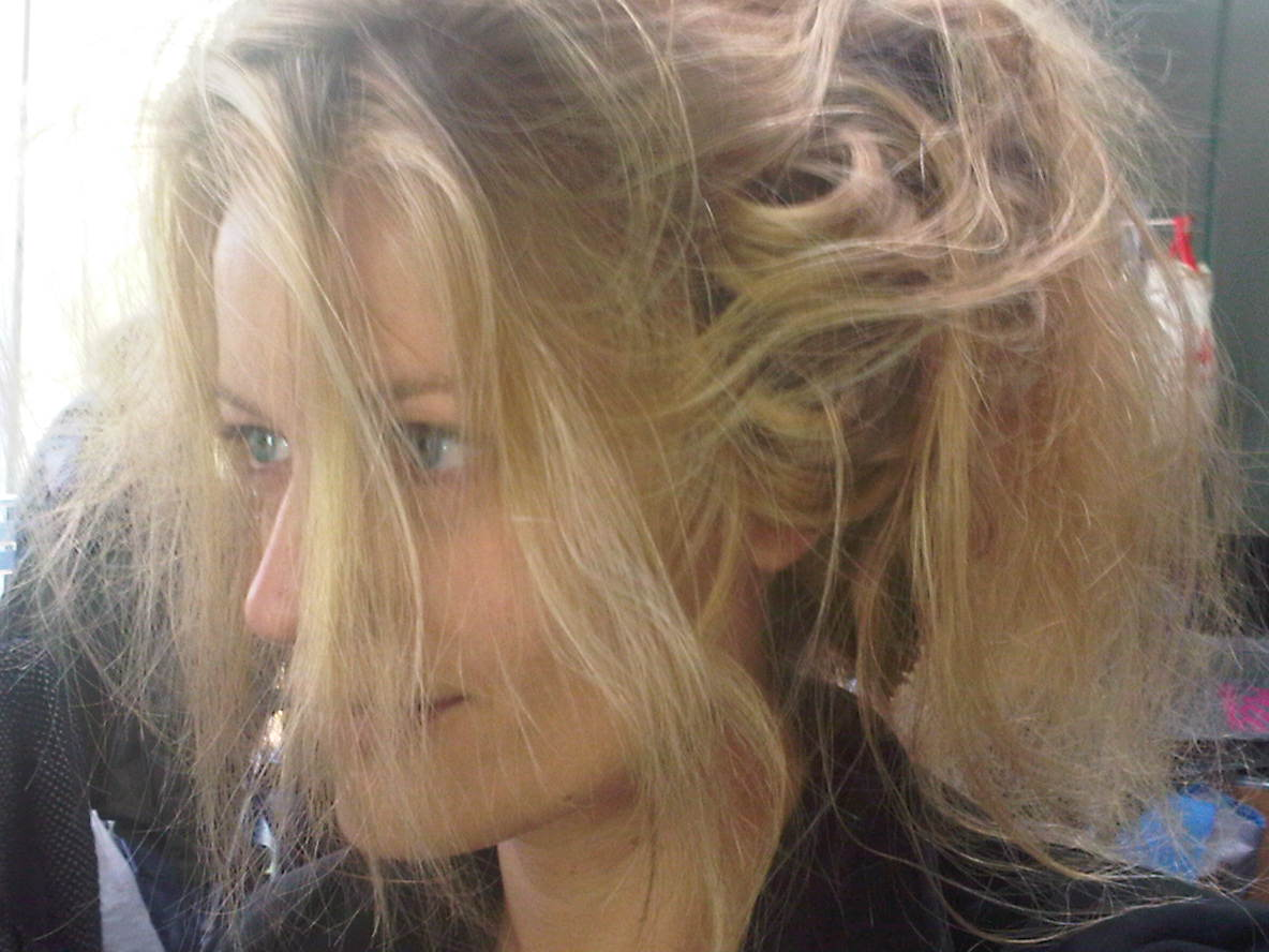 Renata Zanchi - As you can see I have little hair Ajajaja!! This is what I call lion style!! Aaaaaarrrrrg