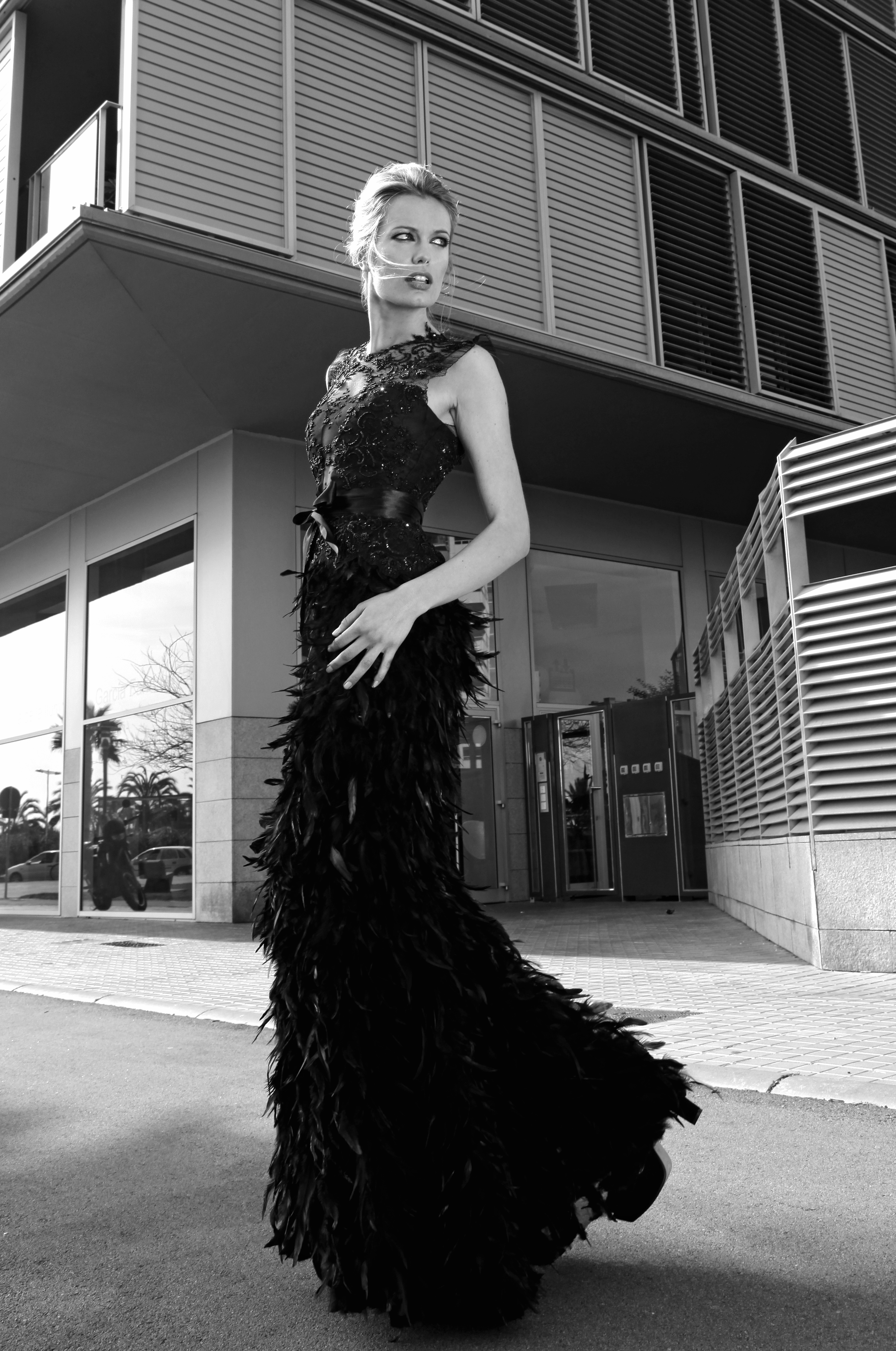 Renata Zanchi shooted by Honey Gueco. Dresses by Santos Costura