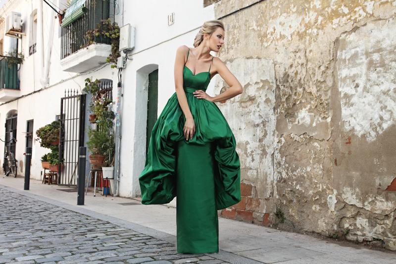 Renata Zanchi in green