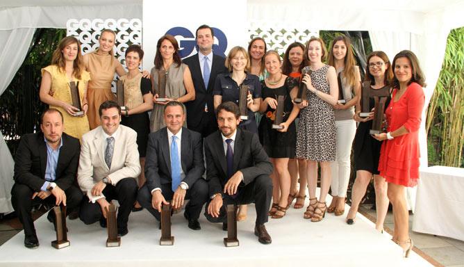 GQ Man Beauty Awards 2012 - Renata Zanchi Daniel Entrialgo and all the Winners