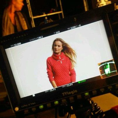 @renatazanchi - TV Commercial shooting, Live from #Amsterdam!! Follow my days on Twitter :-)