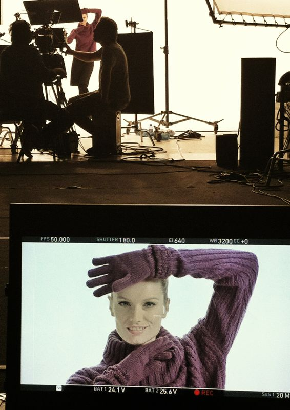 A small preview of the TV commercial we shot today:-) Looking forward to watching it on TV! Live from #Amsterdam!!
