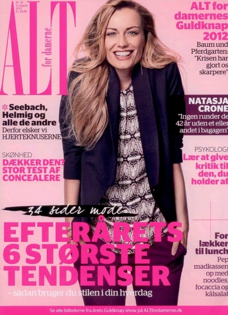 Renata Zanchi - Alt For Damerne - Denmark - August 2012