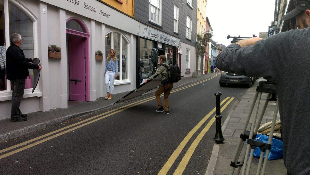 """Renata Zanchi shooting in Cork, October 2012"""