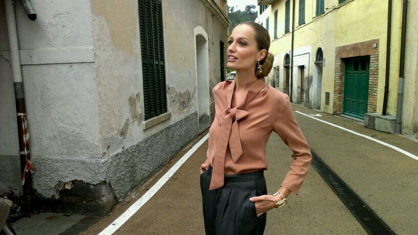 """""""Renata Zanchi shooting in Olivetta - Italy"""""""