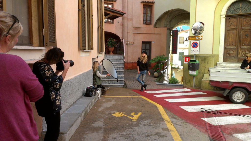 """Shooting in the nice -and quite- town. Having fun in Olivetta ;-) """