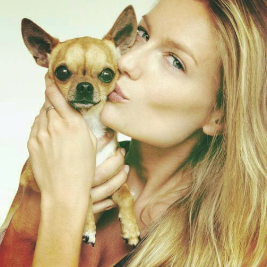 """""""Renata ♥ Giulio. My babe also starts a new career in modeling! #therealbestfriendthatwillneverbetrayyou"""""""
