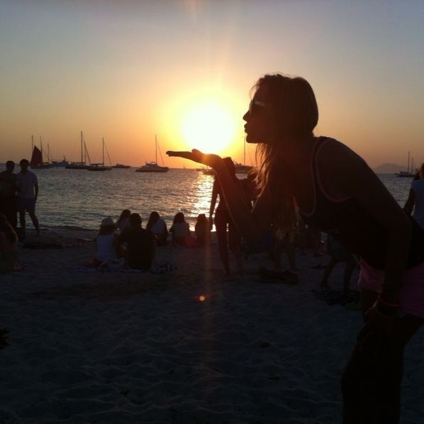 """A kiss for all of you from Beso Formentera. """