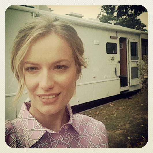 NY. This is how a production usually moves around. Here we get ready and relax between one shot and the other. #motorhome. #selfie