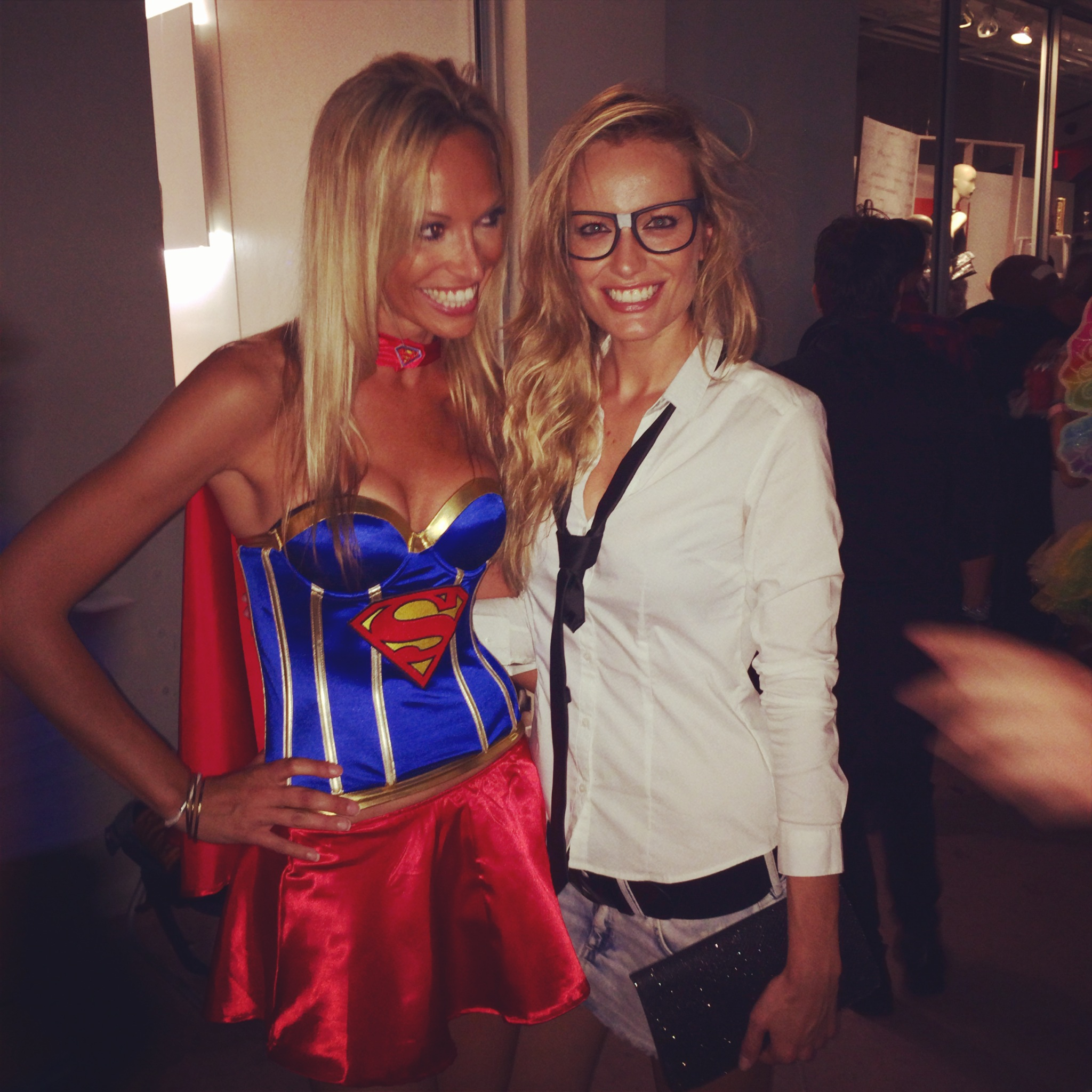 """Could Supergirl be more beautiful? Please meet my dear friend Cristina ♥"""