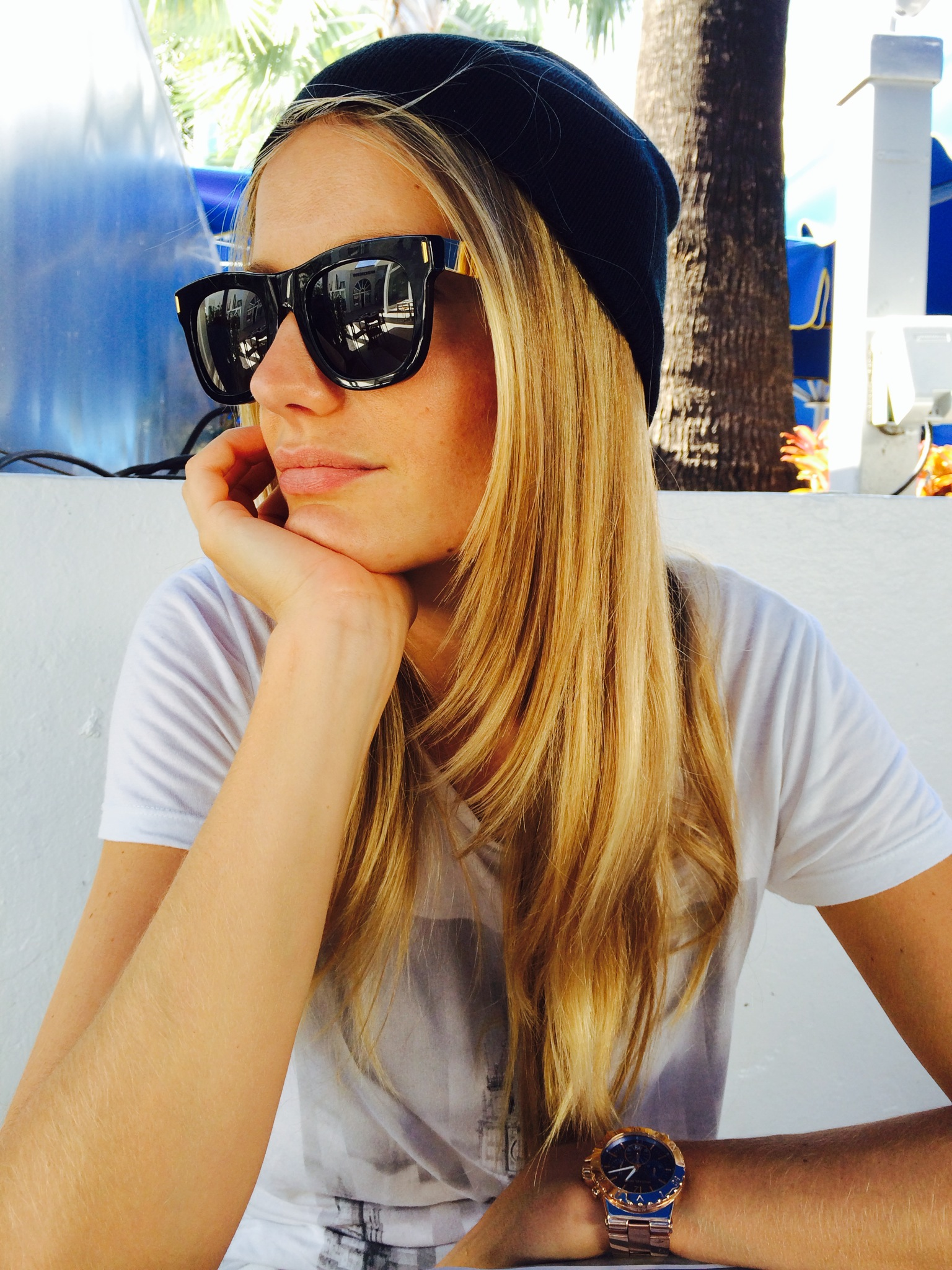 """Coffee Time on Lincoln Road before Art Basel. #miamibeach #sobe"""