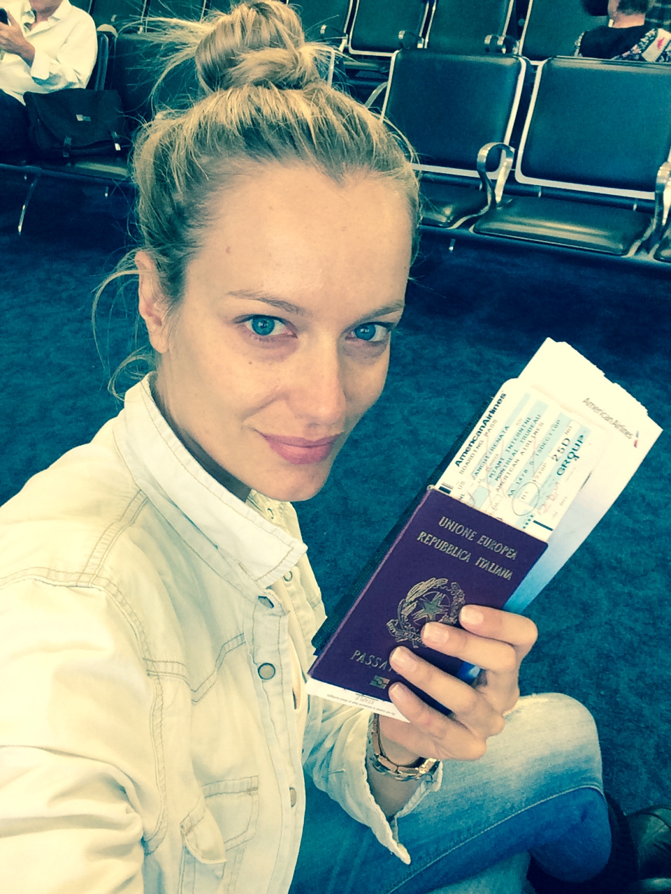 """Renata Zanchi - On my way to Montreal. """