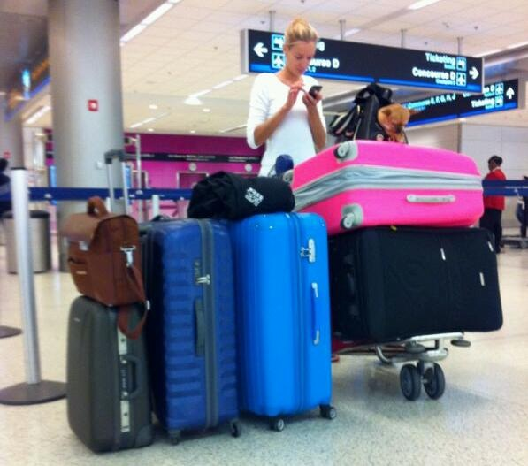 """At Miami International Airport. Do you believe me know?! Please note Giulio ♥"""