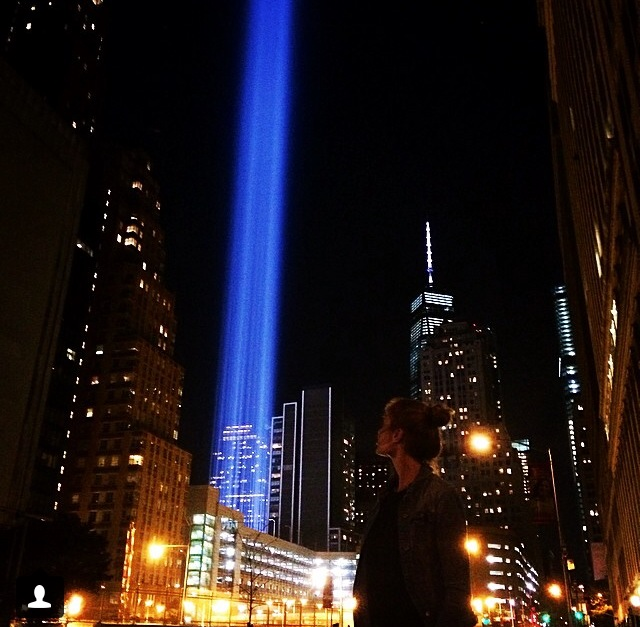 """""""On that day we were all New Yorkers. God Bless them all. Never Forget. 9/11."""""""