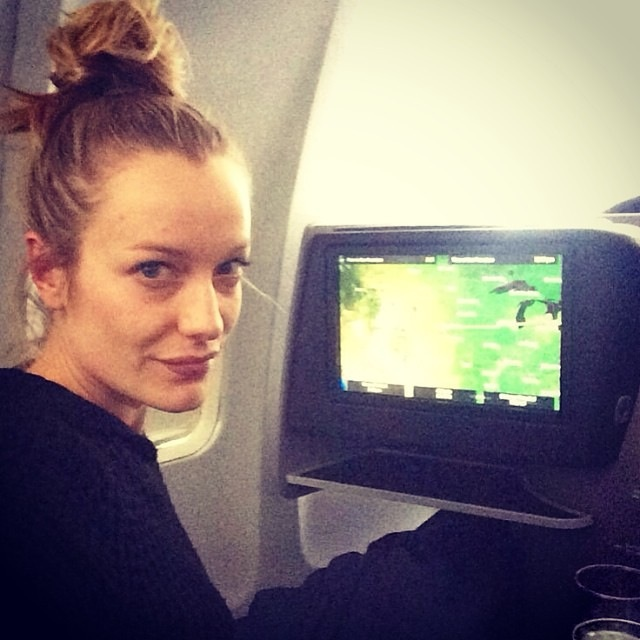 """""""Flying First to San Francisco. Pre-nap selfie. Tired Jetlagged face. """""""