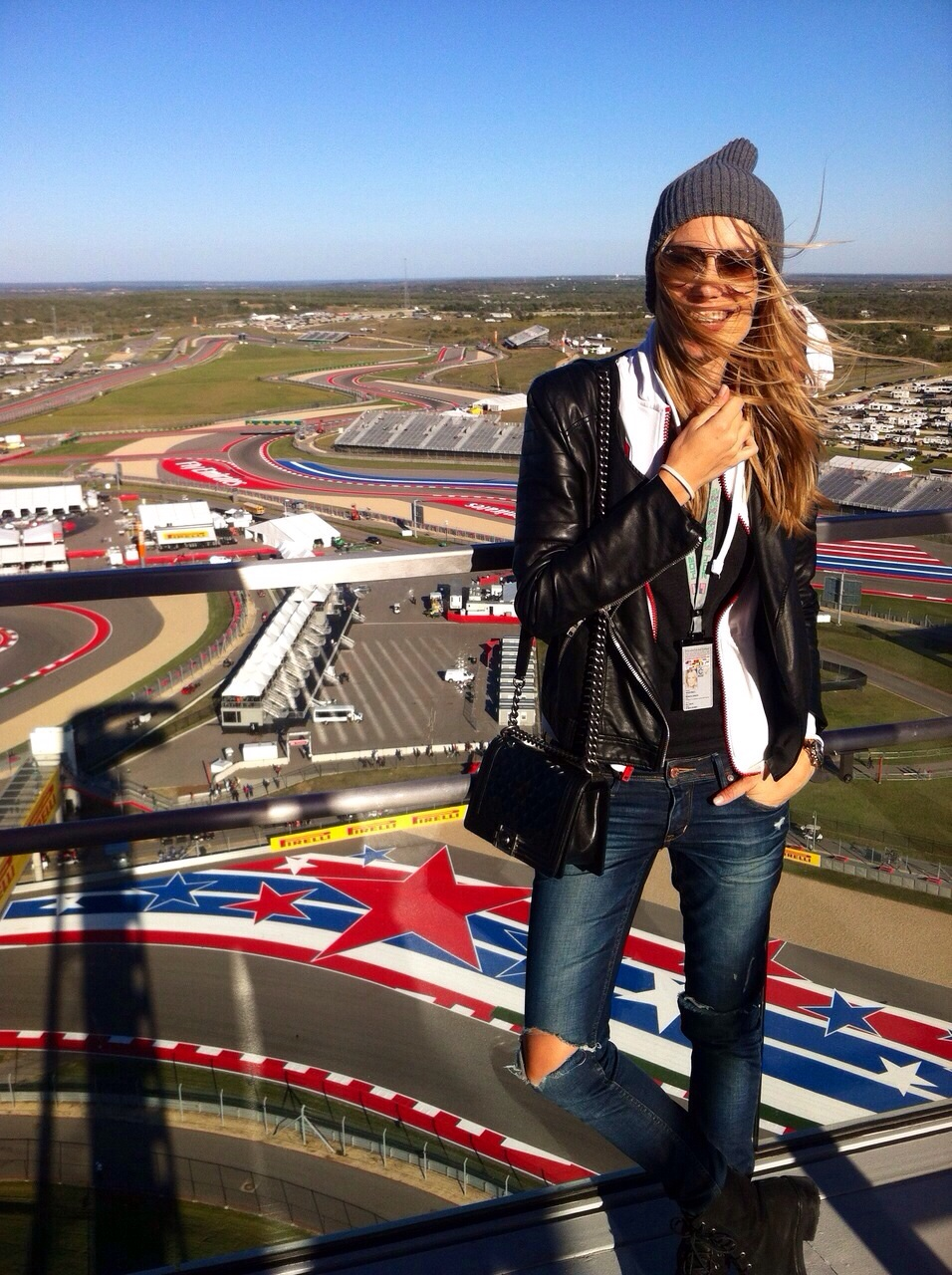 """""""The amazing Circuit of the Americas seen from the observation deck. """""""