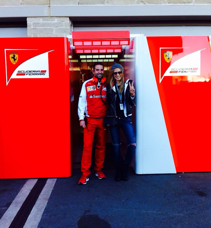 """""""Grazie Jonathan Giacobazzi for the amazing time with Ferrari team."""""""