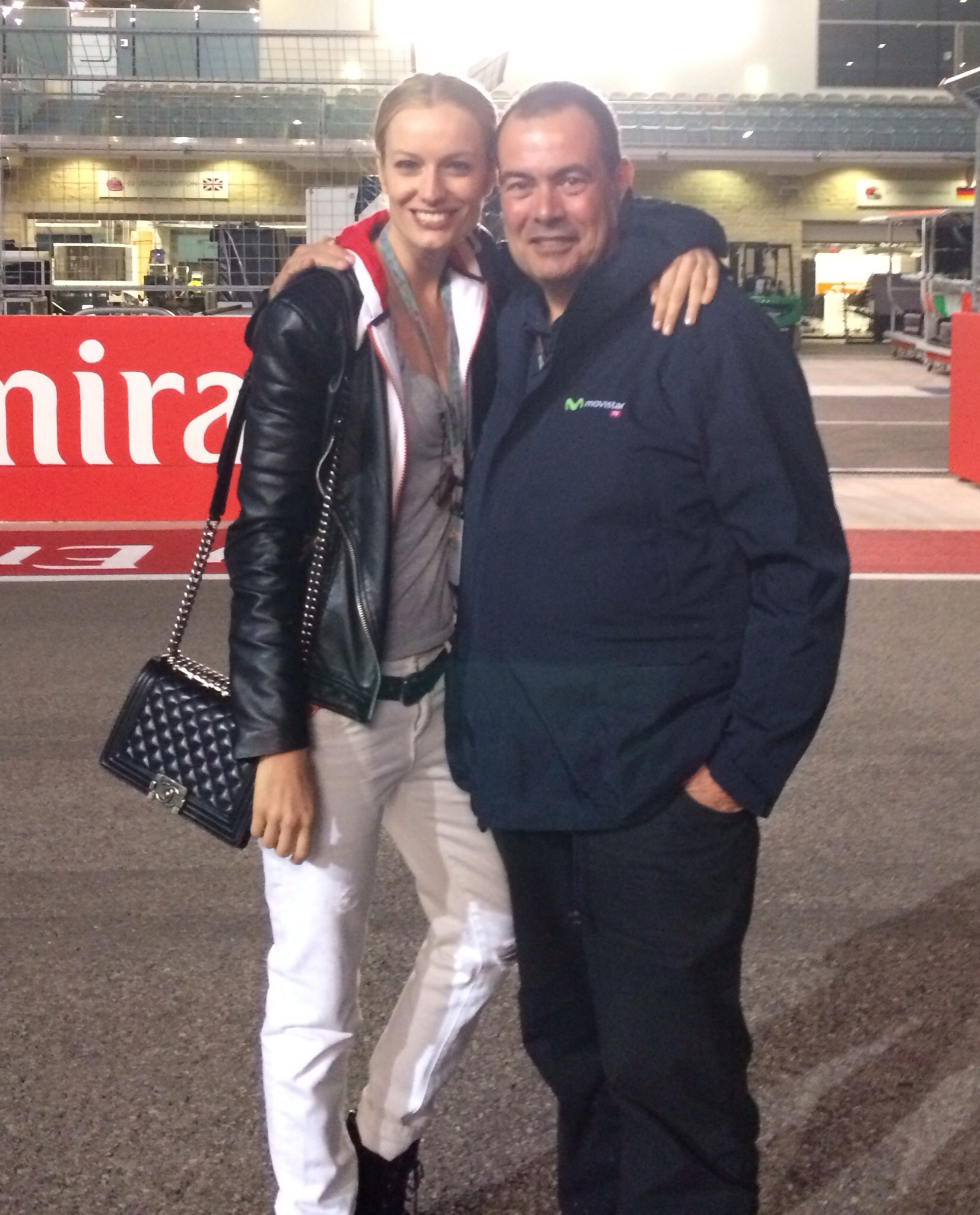 """""""A special GRAZIE to Josep Lluis Merlos for the unforgettable weekend ♥"""""""