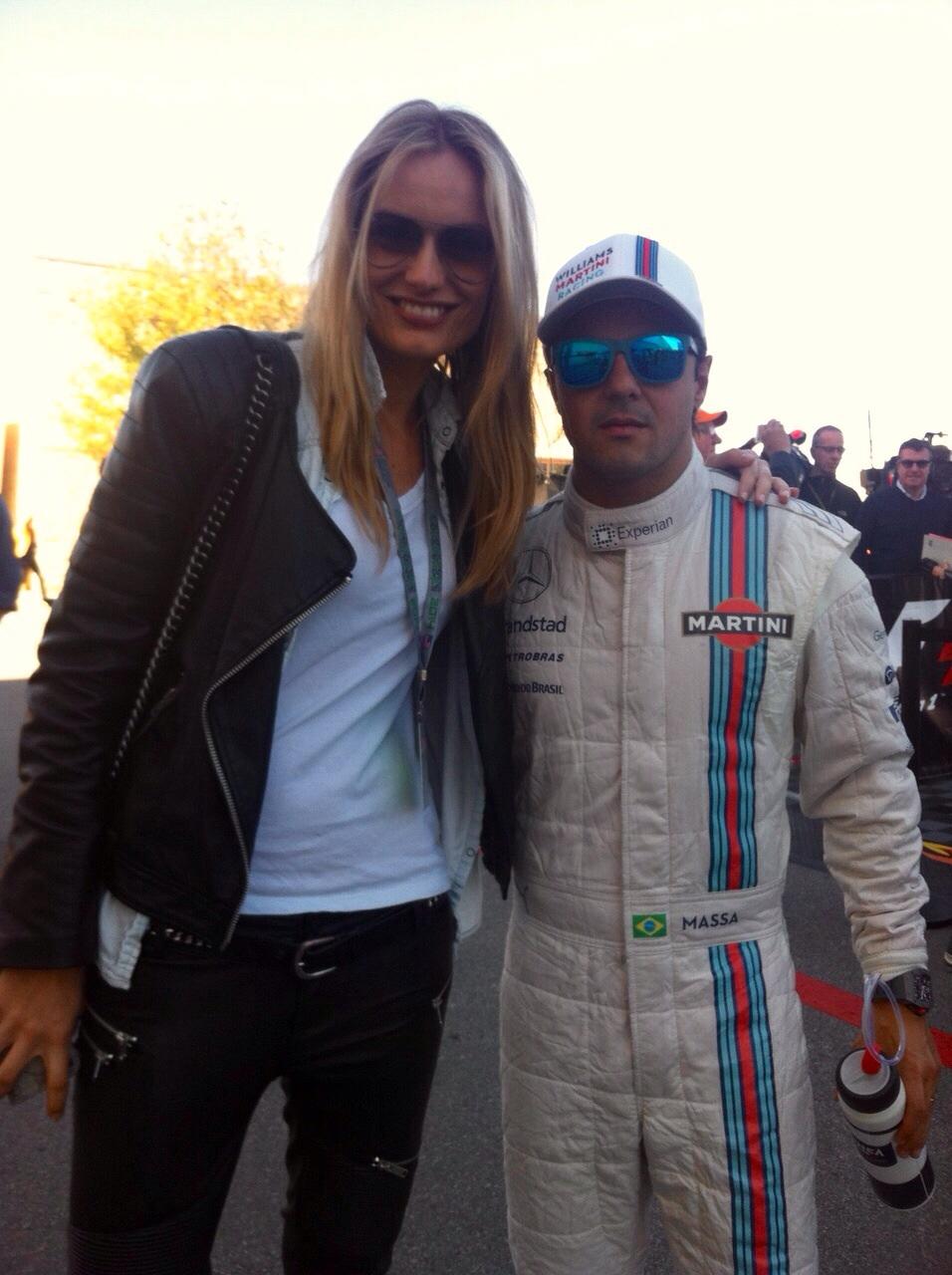 Congrats Felipe Massa on his amazing race ;-)