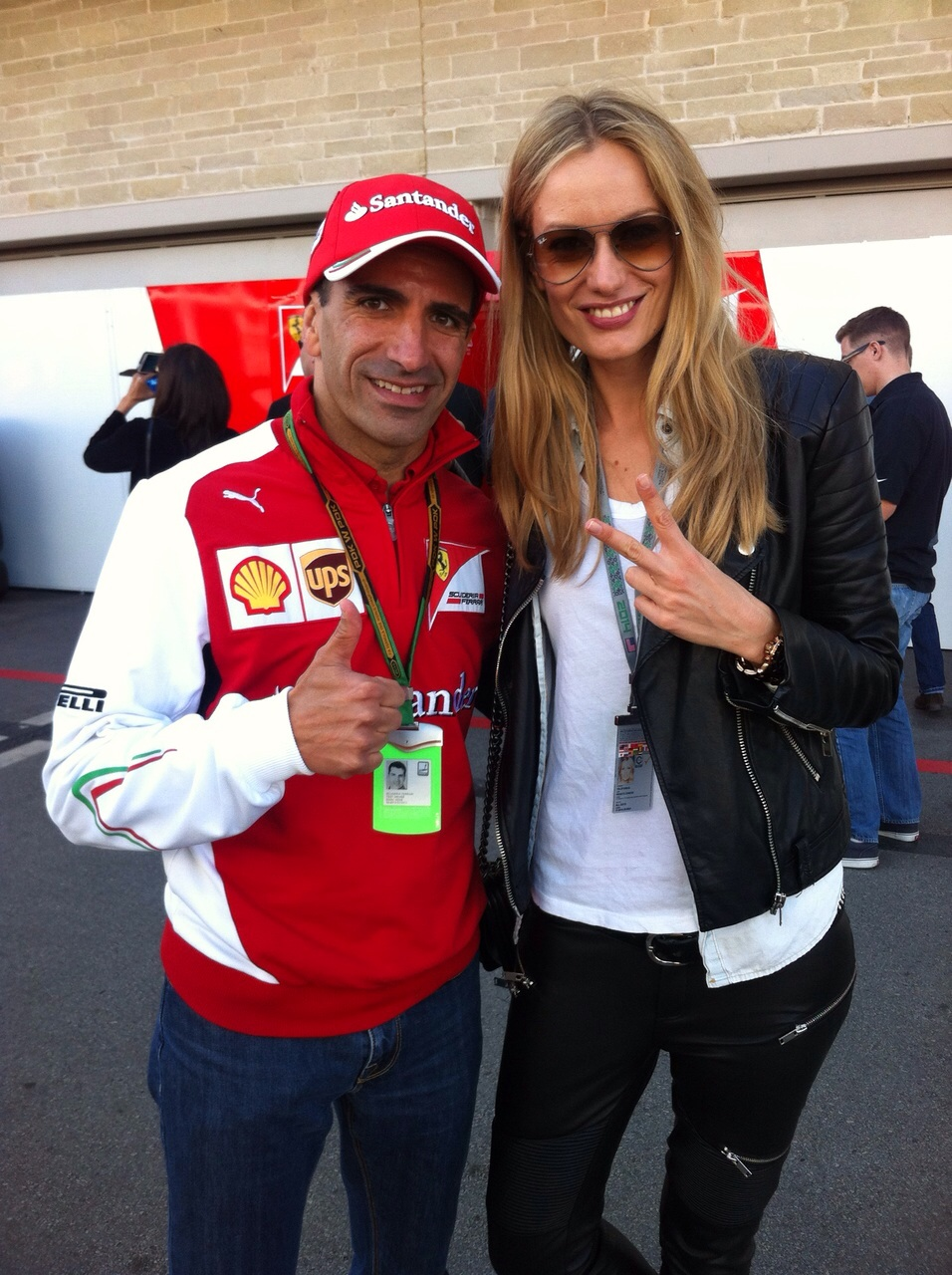 With former F1 Pilot Marc Gené. See you in Barcelona Marc!