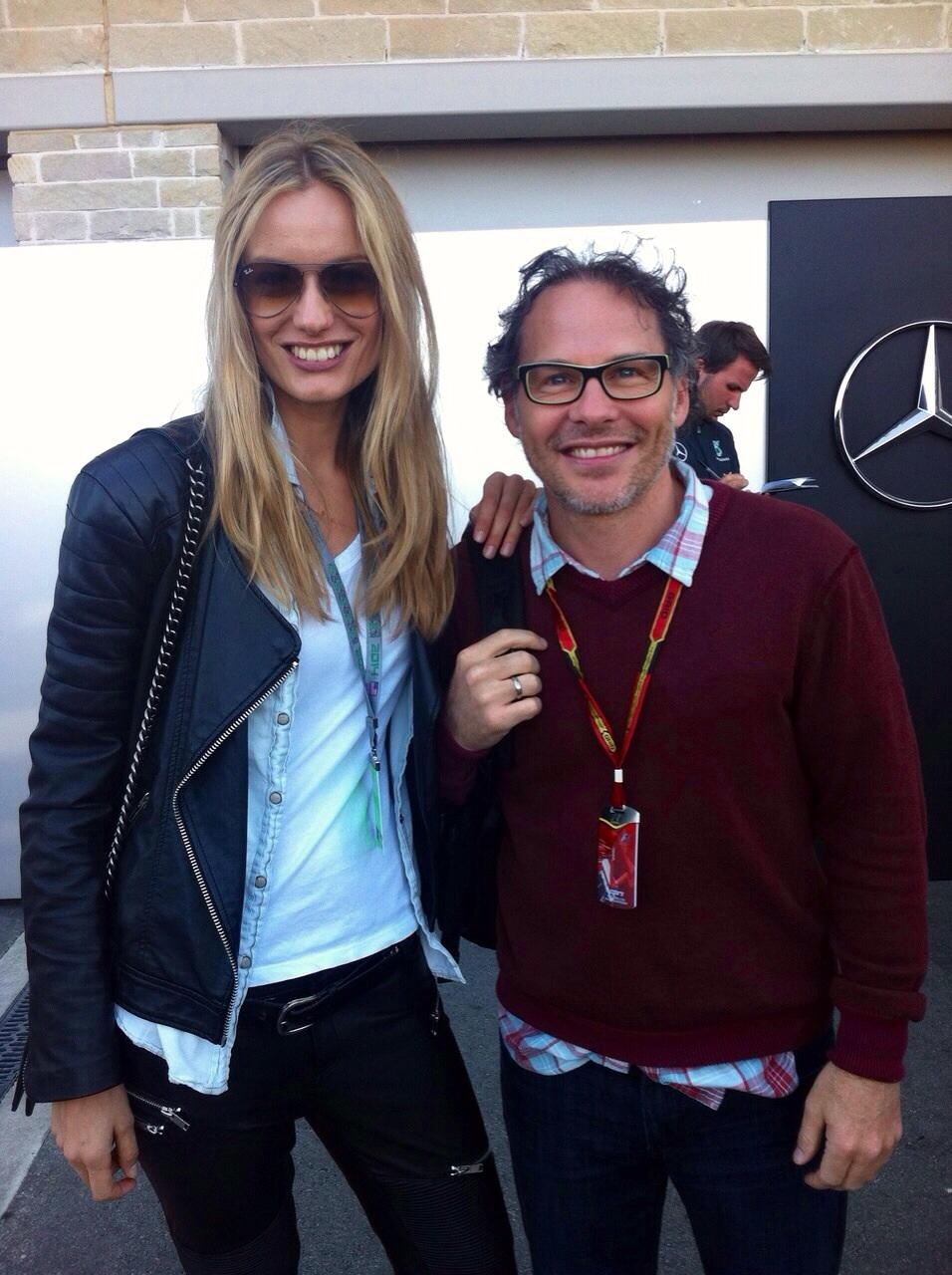 """I still remember watching him racing! Avec Jacques Villeneuve ;-)"""