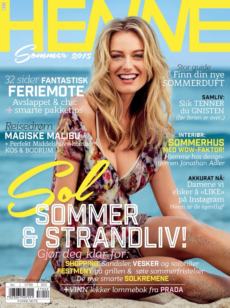 Out now in Norway. New cover and fashion editorial. Go and get your Henne Magazine now!